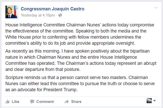 Congressman Joaquin Castro - Timeline